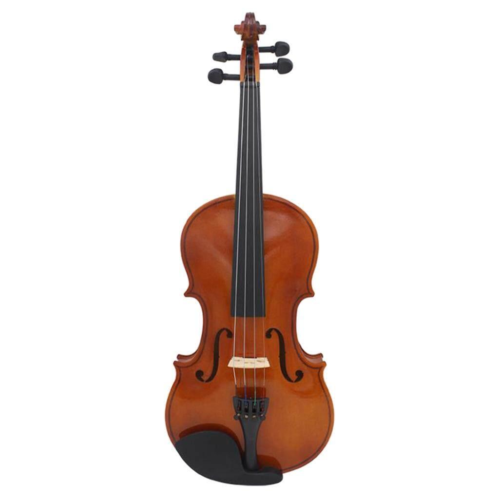 Baoblade Sơ Cấp 4/4 Tự Nhiên Âm Violin Fiddle Gỗ 4 Nhạc Cụ Dây với Ốp Lưng Nơ Nhựa Thông