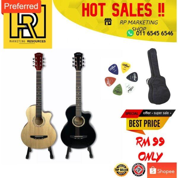 Guitar Acoustic Murah Budget Gitar Kapok Package For Beginner Malaysia