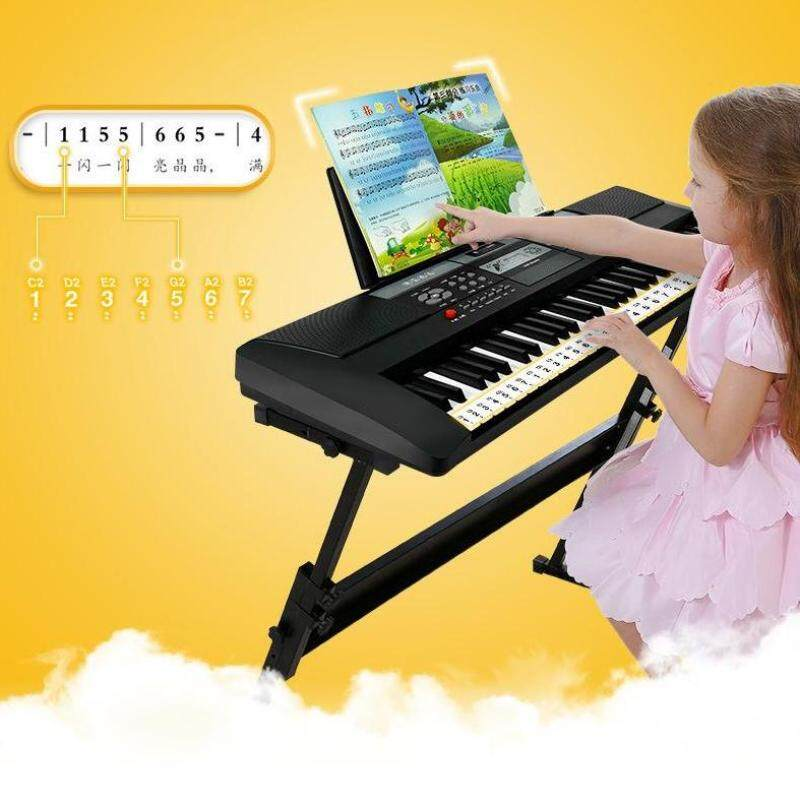61 KEYS MULTI-FUNCTION DIGITAL ELECTRONIC KEYBOARD INPUT USB DIGITAL PIANO MUSIC KEYBOARD Malaysia