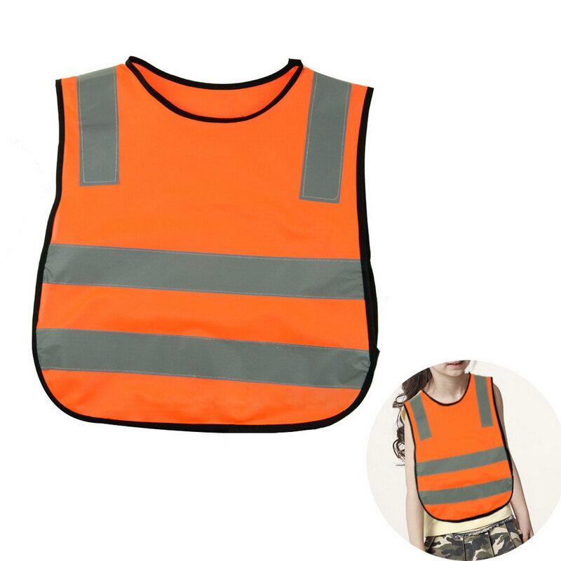 Kids Safety Security High Visibility Vests Road Traffic Children Reflective Reflector Vests Clothing Jacket Hot Sale