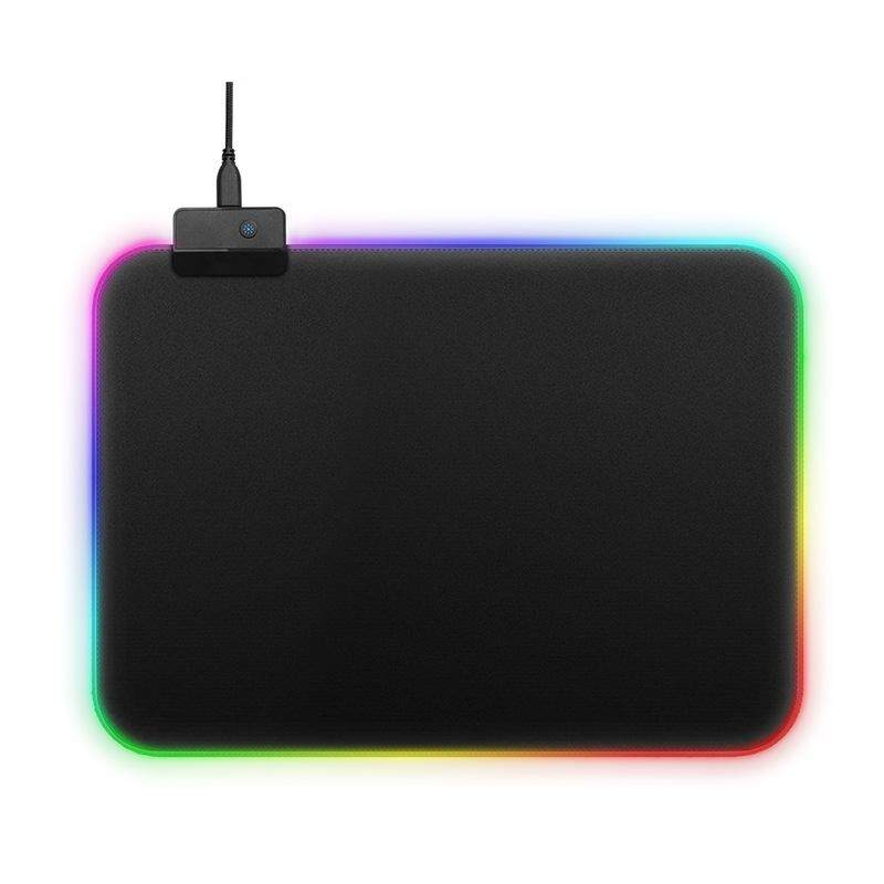 Gaming Mousepads RGB Colorful LED Lighting Gaming Mouse Pad Mat for PC Laptop 350*250mm Malaysia