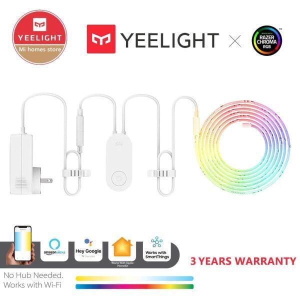 Xiaomi Yeelight Dải Đèn RGB Dải Đèn Thông Minh 1S, Ứng Dụng Điện Thoại Gia Đình Thông Minh Đèn LED Cừu Nhiều Màu Wifi 2M Đến 10M 16 Triệu 60 Led