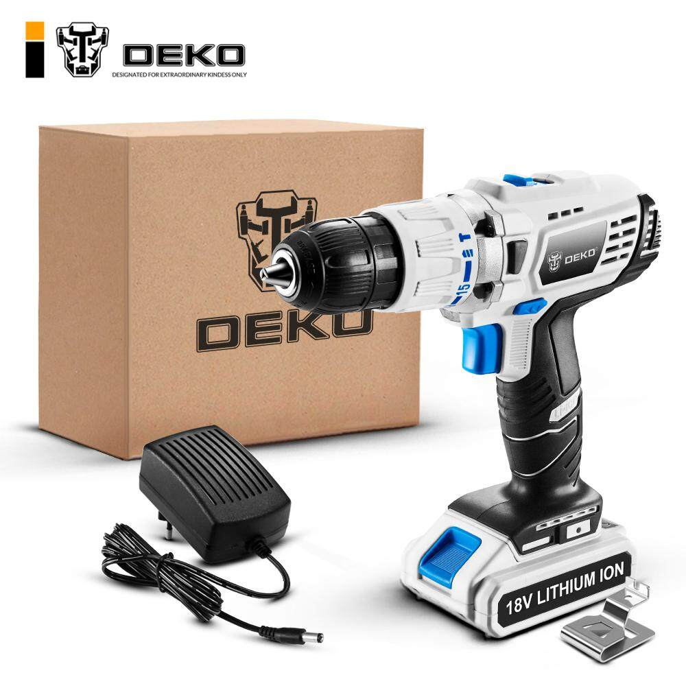 DEKO GCD18DU3 Hot Sale Electric Screwdriver Drill Cordless Multifunction Electric Drill