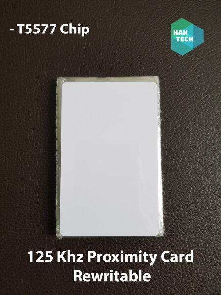 125Khz rfid rewritable proximity card