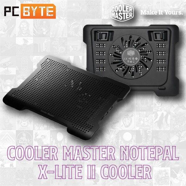 Cooler Master Notepal X-Lite II Notebook Cooler With USB HUB (R9-NBC-XL2K-GP) Malaysia