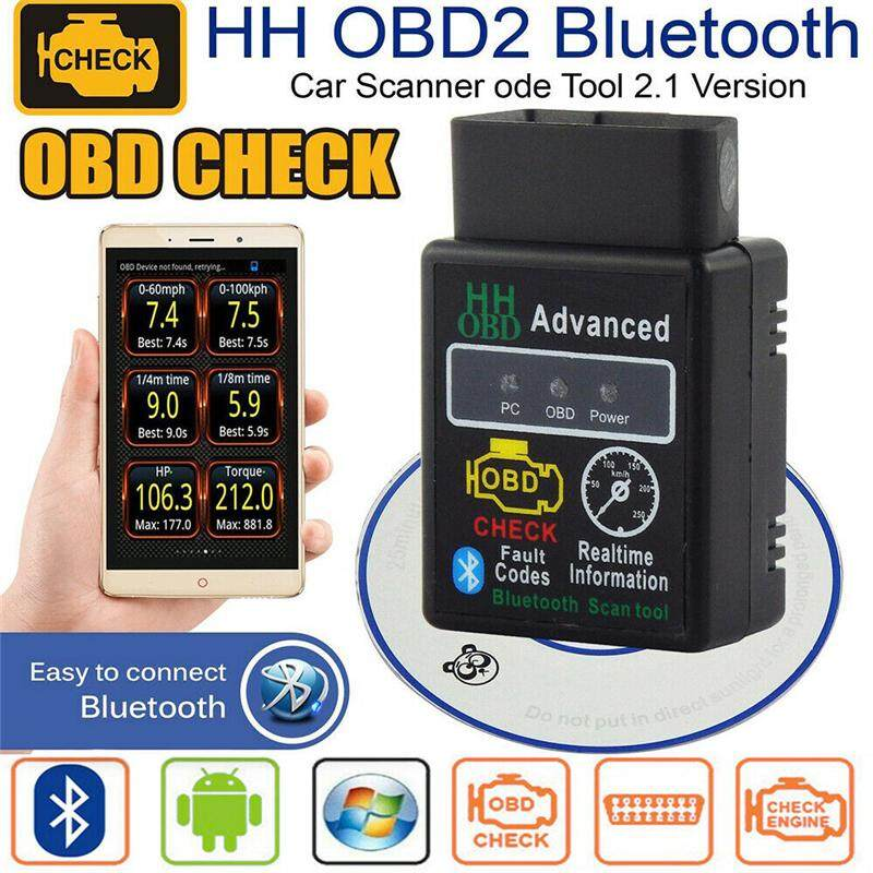 Mini  V1.5 Bluetooth OBD2 OBDII Car Scanner Android Torque Auto Scan Tool