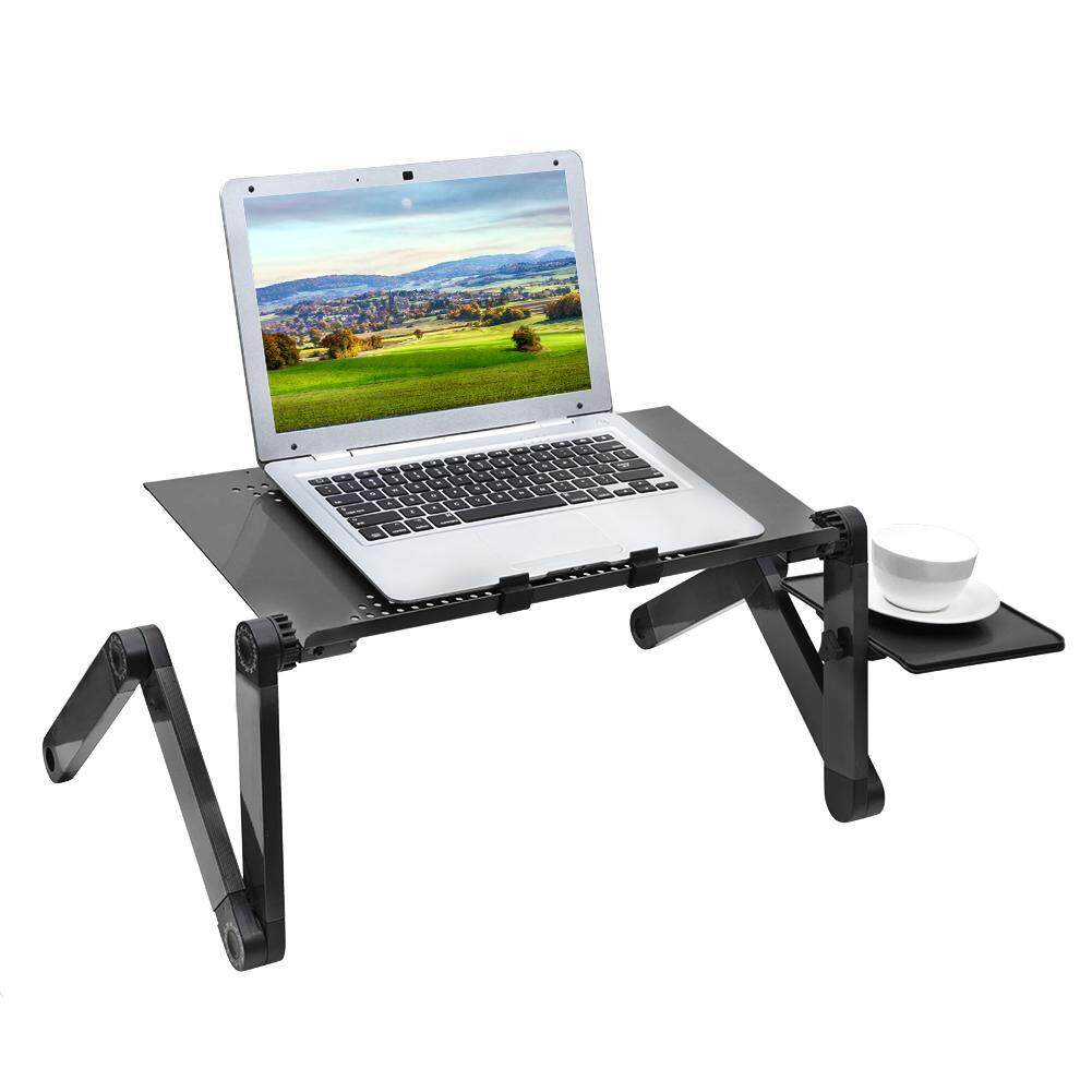 360° Folding Adjustable Laptop Computer Notebook Table Desk Stand Bed Lap Sofa