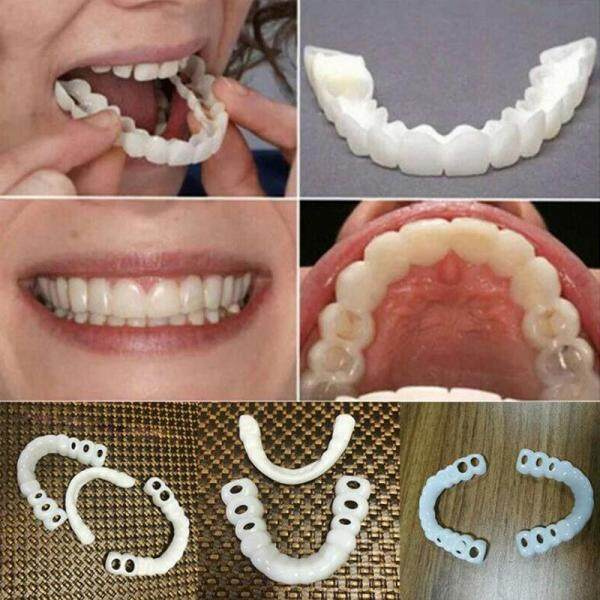 Royalbelley 1 Cặp Răng Veneers Nụ Cười Hoàn Hảo Mỹ Phẩm Thoải Mái Bao Gồm Đáy Trên giá rẻ