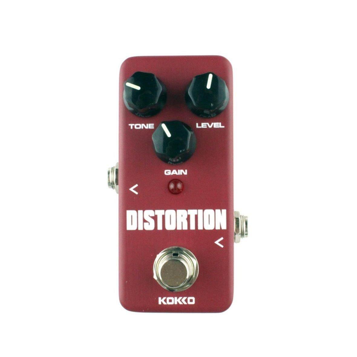 Hot Penjual FDS2 Mini Distorsi Pedal Gitar Efek Pedal Gitar Suku Cadang dan Aksesori