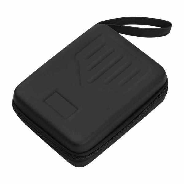 17-Key Kalimba Case Thumb Piano Bag Storage Box Carry Case Water-resistant Shock-proof Black (Standard) Malaysia