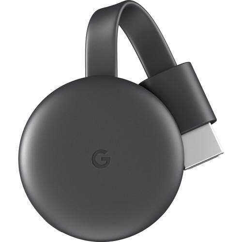 Google Chromecast 3rd Generation - [Charcoal]