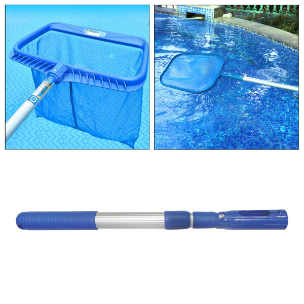 Dolity 3-Stage Aluminum Swimming Pool Telescopic Pole for Vacuum Heads