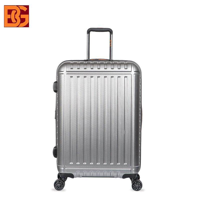 """24"""" SHINING SURFACE ANTI-SCRATCH DESIGN EXPANDABLE +20% CAPACITY PC MATERIAL LUGGAGE"""
