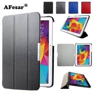 SM-t530 T535 T531 máy tính bảng Bao da dành cho Samsung Tab 4 10.1 Siêu Mỏng Slim da Smart Cover từ tự động giấc ngủ thumbnail