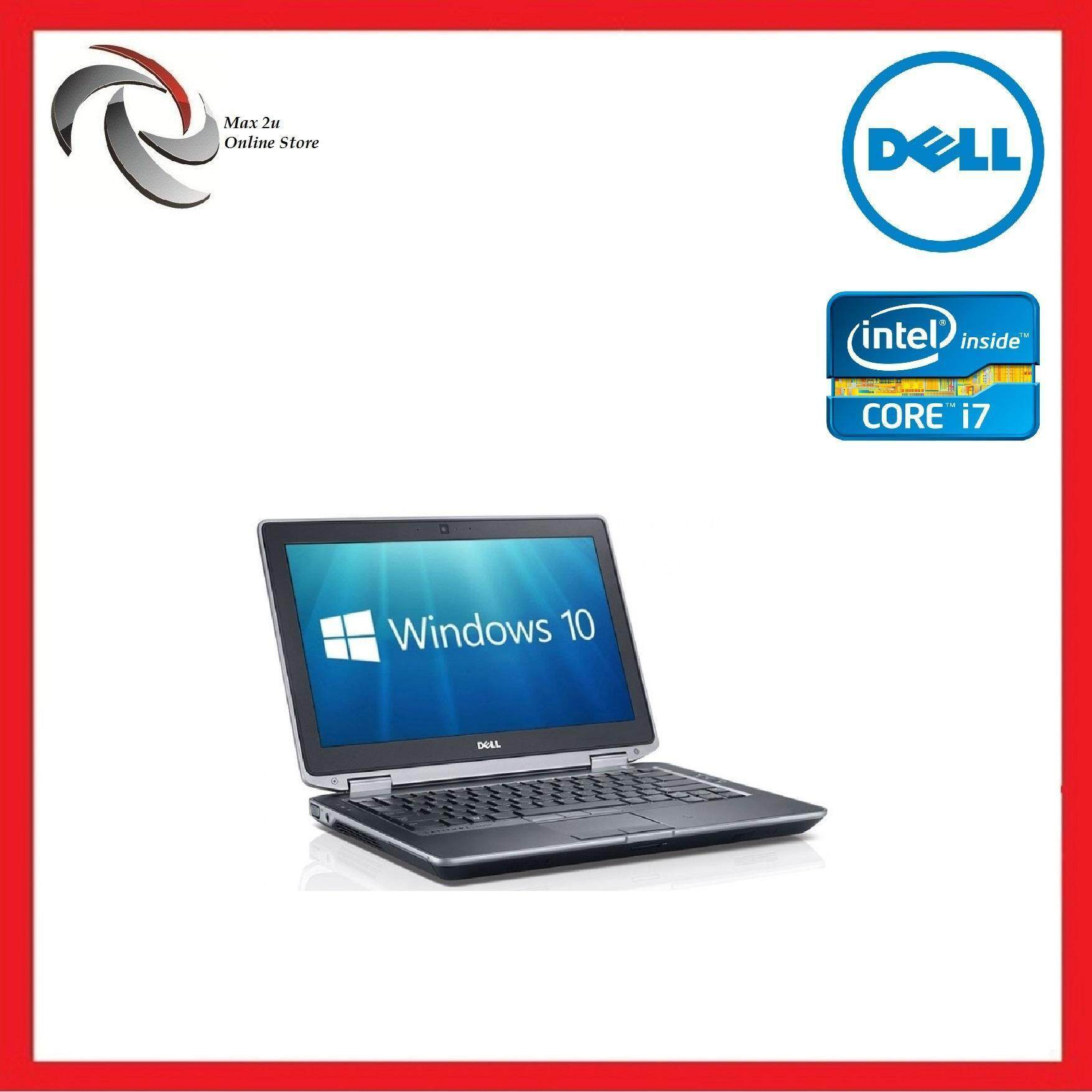 REFURBISHED Notebook Laptop Dell Latitude E6330 i7-3450 2.9ghz/4GB/240GB SSD/13.3  /Warranty 1Month/free mouse Malaysia