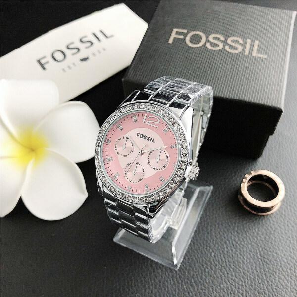 Fossilˉ Casual Shopping Watches Leisure Lady Wristwatch Quartz Watch Malaysia