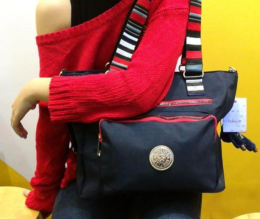 8e2914a4fd21 Kipling New Tote Bag Free x 2 Kipling Monkey Soft Luggage  Ladies Casual  Sports Travel