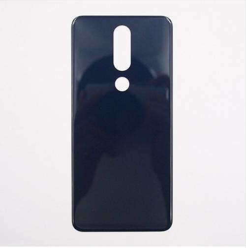 Untuk Nokia 5.1 Plus Penutup Belakang 5.86 Inci Pintu Logam Perumahan Flash Pengganti Cover Perbaikan Bagian untuk Nokia X5 2018