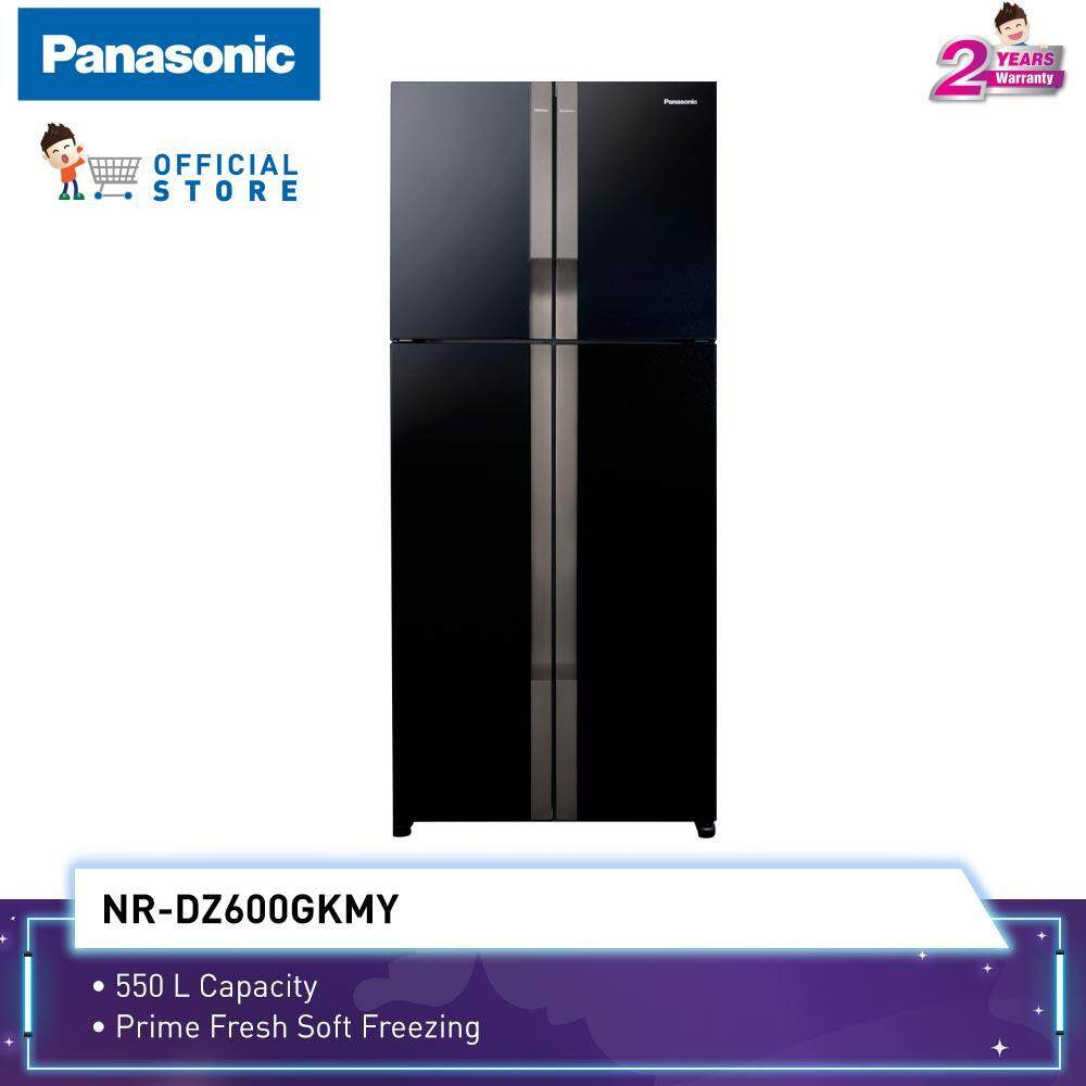 Panasonic 550L ECONAVI Inverter 4-Door Fridge NR-DZ600GK