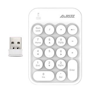 AJAZZ Bàn Phím Số Không Dây 18 Phím AK18 Mini, Kỹ Thuật Số Bàn Phím Bàn Phím Máy Tính Mini Không Dây 2.4G Bộ Thu USB Bên Ngoài thumbnail