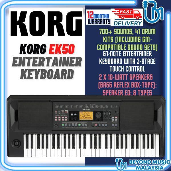 KORG EK-50 ENTERTAINER KEYBOARD (KorgEK50/Korg-EK50/KorgEK-50) Malaysia