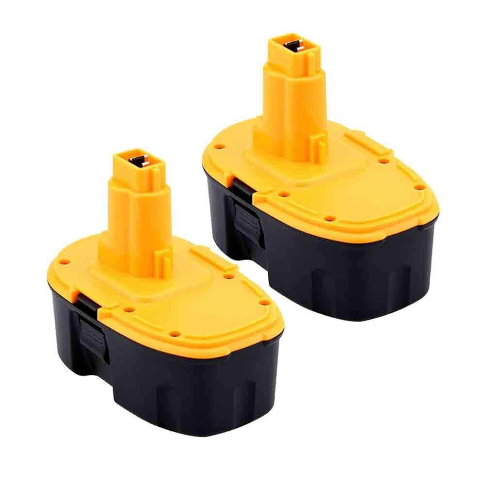 2 Pcs 18V Ni-CD DC9096 Battery Replacement for Dewalt Power Tool XRP DC9096