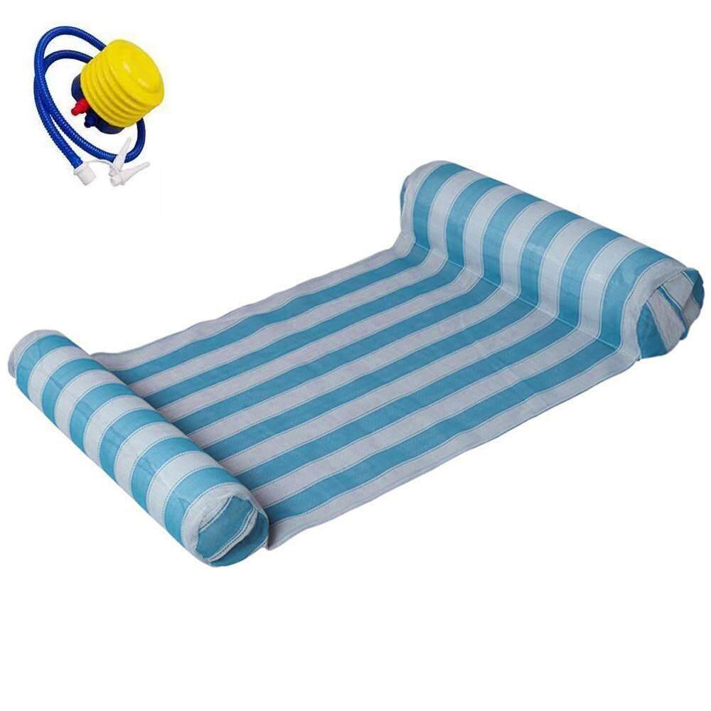 SilyNew Cao Cấp Bể Bơi Bơm Hơi Phao Võng Bể Bơi Lửng Ghế, bể bơi Đi Biển Không Ngủ Kèm Máy Bơm Không Khí