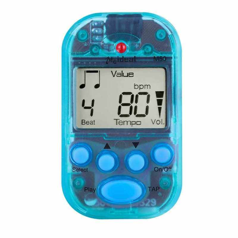 Professional Metronome M50 Digital LCD Clip-on Tuner Metronomfor Guitar Piano Mini Metronomo Musical Instrument Accessories (Blue) Malaysia