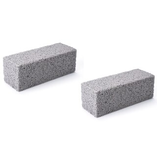 Barbecue Cleaning Brick Furnace Clean Bricks BBQ Clean Stone Barbecue Grill Stain Grease Cleaning Tool Foam Glass Brick thumbnail