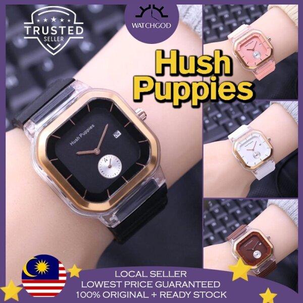 [🔥WATCHGOD PROMO🔥] Hush Puppies Sport Chrono Rubber Date Women Ladies Watch Jam Tangan Wanita Perempuan Malaysia