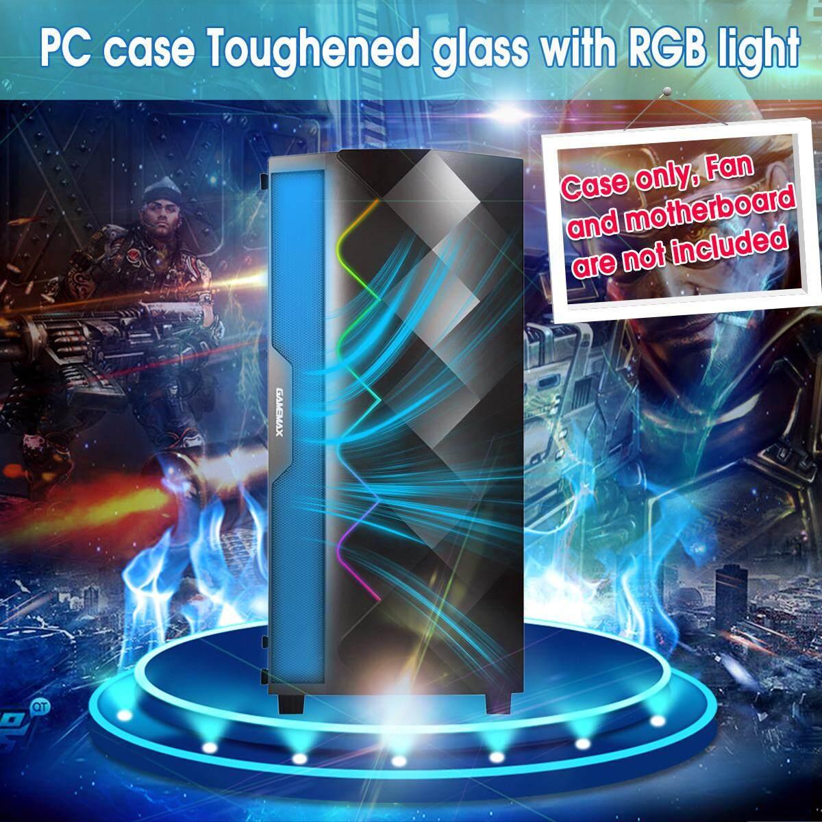 Giá 【Free Vận Chuyển + Siêu Deal】coolmoon RGB PC Ốp Lưng Dán Kính Cường Lực Bên Máy Tính Dành Cho Micro-ATX ATX ITX
