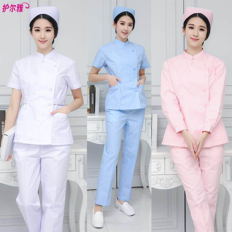 89a0afee518 Product details of Women Medical Spa Nursing Clinic Scrub Sets Hospital  Uniform Doctor Suit