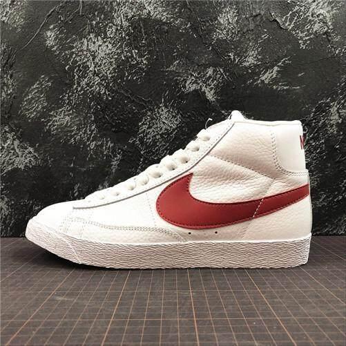 Nike Asli Blazer Mid Retro Pria Sepatu Skateboard Penjualan Global (EU   40-44 0faee46575