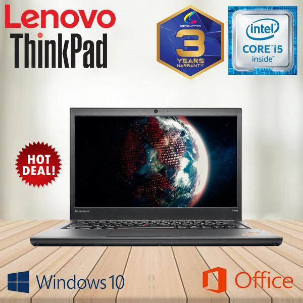 LENOVO THINKPAD T440s ULTRABOOK [CORE I5-4300U/ 4GBDDR3/ 128GBSSD/ WINDOW 10 PRO GENUINE] 3 YEARS WARRANTY Malaysia