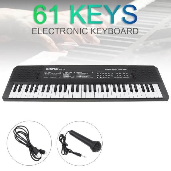 Electronic Keyboard Piano 37/54/61 Keys Digital Music Key Board Microphone Children Gift Musical Enlightenment Electronic Organ Malaysia