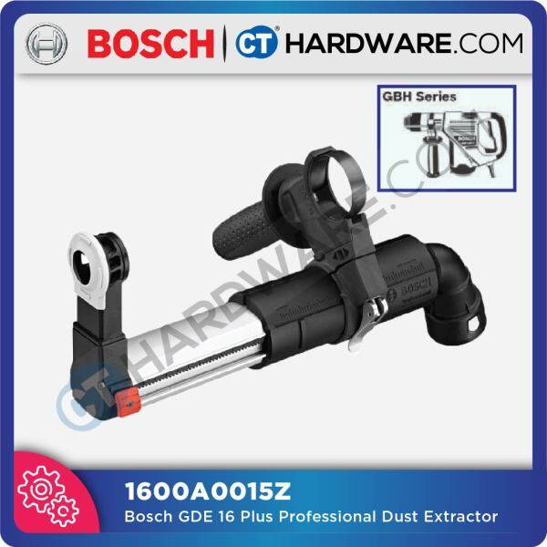 BOSCH GDE16 FOR SDS PLUS HAMMER DUST EXTRACTOR (1600A0015Z) ( GBH224,226,228,328,432 & GBH36VCOM/PLUS USE )