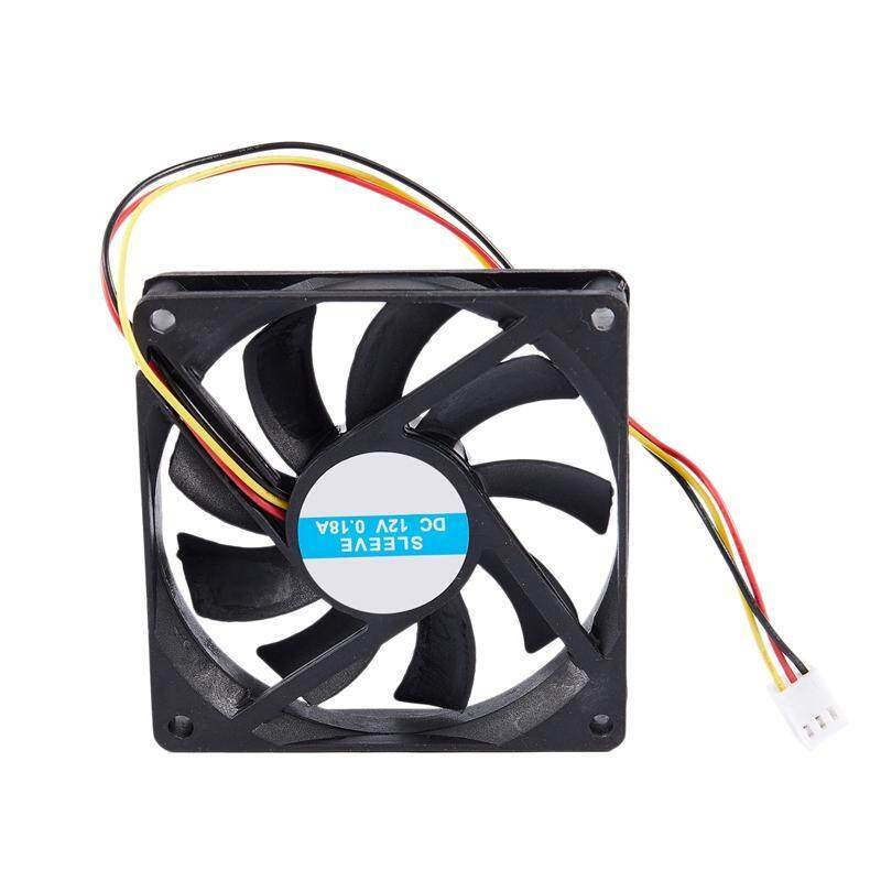 Bảng giá 12V 3 Pin CPU Fan Heatsink Cooler Heatsink Fan For PC 80x80x15mm Phong Vũ