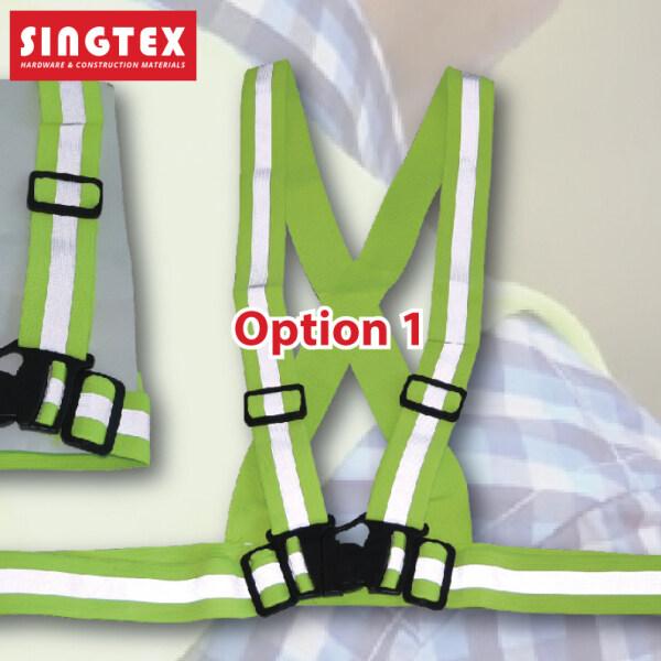 [READY STOCK] Green Reflective Line Safety Vest | Light Duty Heavy Duty | Unisex Safety Vest | Premium Quality