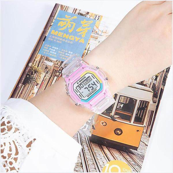 R-Shock Waterproof Electronic Sport Watch for Women Student Luminous Alarm Stopwatch Malaysia