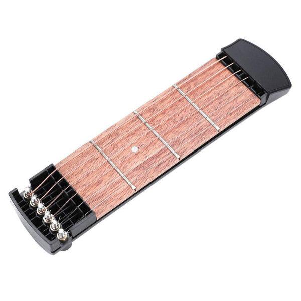 Mô Hình 6 Dây 4 Băn Khoăn Túi Di Động Guitar Cổ Hợp Âm Huấn Luyện Viên Guitar Thực Hành Công Cụ Cho Người Mới Bắt Đầu