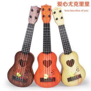 Hadiah Mainan Anak 21 Inci Gitar Empat Senar Ukulele By Devo Ting.