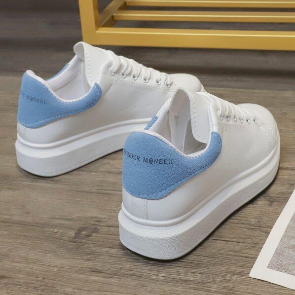 Giày Nữ Thiết Kế Thời Trang 2020 Giày Siêu Nữ Giản Dị Siêu Cổ Điển Giày Trắng Nhỏ Giày Nữ Đế Cao Giày Thể Thao Tenis Feminino88 giá rẻ