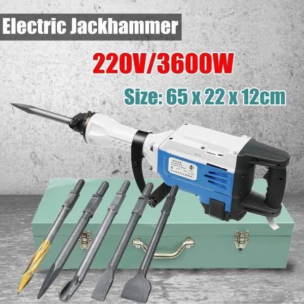 Máy Khoan Bê Tông Búa Phá Dỡ Chạy Điện Máy Đục Lỗ 95/65 Ren Jackhammer