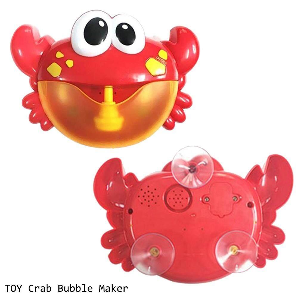 Frog Bubble Maker Automated Spout Bubble Machine Kids Bath Shower Fun Toy