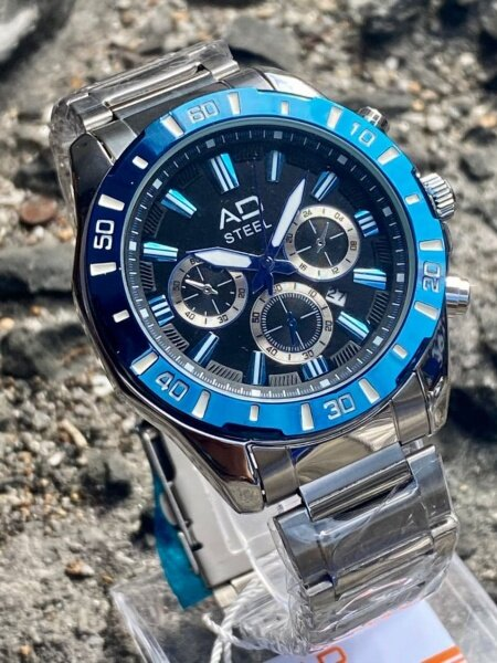 **VALUE DEAL** AD_STEEL Stylish Fashion Watch For Men (GREAT QUALITY) FAST SHIPPING Malaysia