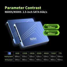 """Ổ Đĩa Thể Rắn Netac N500S SSD 2.5 """"Ổ Đĩa Cứng TLC Ổ Đĩa Thể Rắn Bên Trong Máy Tính Xách Tay Ổ Cứng Máy Tính 60GB"""