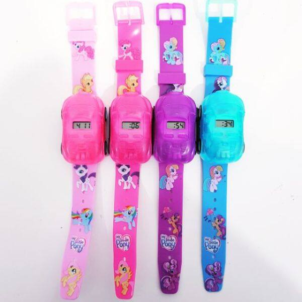 2 IN 1 MY LITTLE PONY TOYS CAR N WATCH WITH PROJECTOR Malaysia