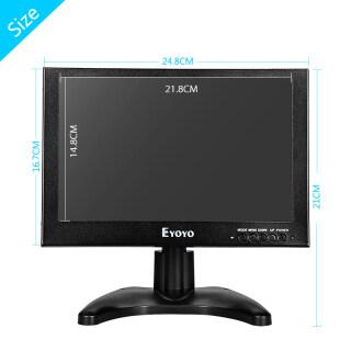 Eyoyo 10 Inch TFT LCD 1920x1200 Monitor With VGA HD BNC For Car FPV DVD PC thumbnail