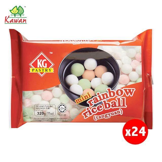 (KL & Selangor Delivery Only) Jocom KG Pastry Mini Rainbow Rice Ball 1 Carton (24 packs x 320g)