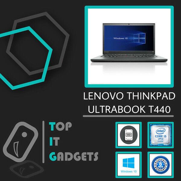 LENOVO THINKPAD T440 ULTRABOOK - CORE I5 4TH GENERATION / 8GB RAM / 128GB SSD / WINDOWS 10 PRO [ 6 MONTHS WARRANTY] [ LAPTOP ] Malaysia